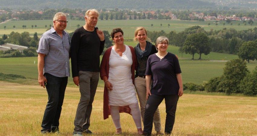 Die Grünen Politiker Tom Jürgens, Jürgen Tritten, Anja Piel, Britta Kellermann & Ute Michel besuchen den Bückeberg